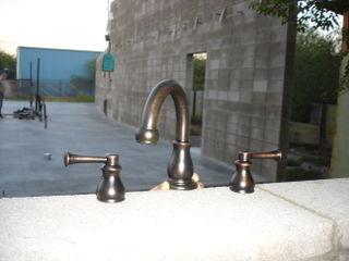 Bronze tap