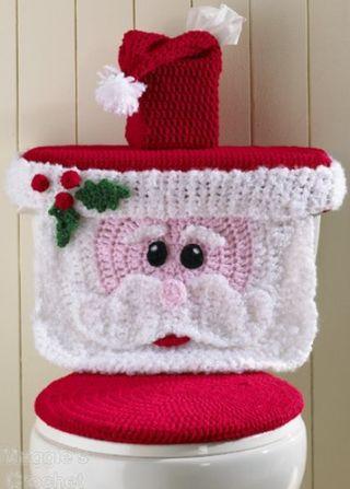 Crochet tank cover